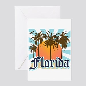 Florida The Sunshine State Greeting Cards