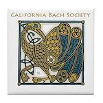 California Bach Society Tile Coaster