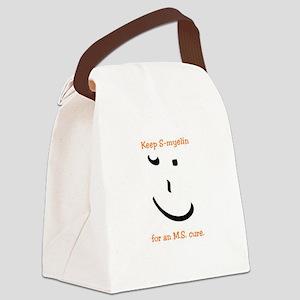 Keep S-myelin. - MS awareness Canvas Lunch Bag