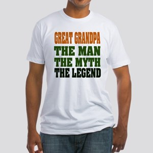 Great Grandpa - The Legend Fitted T-Shirt
