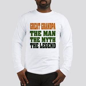 Great Grandpa - The Legend Long Sleeve T-Shirt