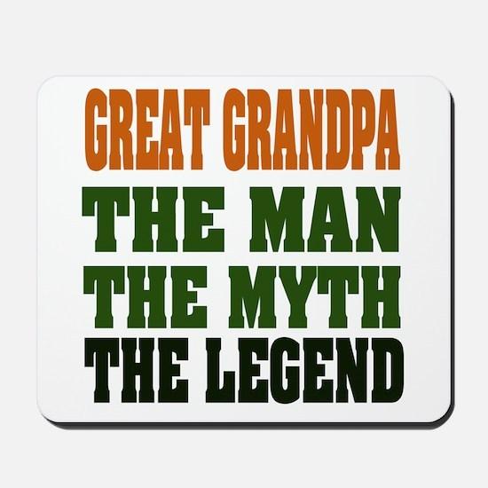 Great Grandpa - The Legend Mousepad