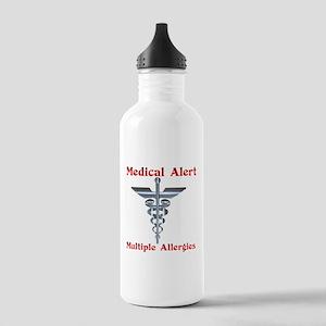 Multiple Allergies Med Stainless Water Bottle 1.0L