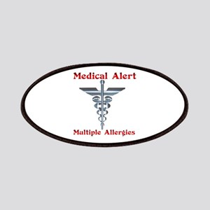 Multiple Allergies Medical Alert Asclepius C Patch
