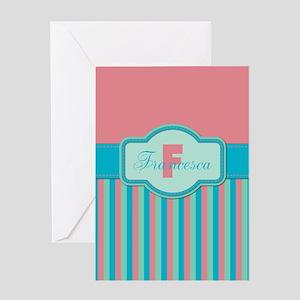 Stripes2015F2 Greeting Card