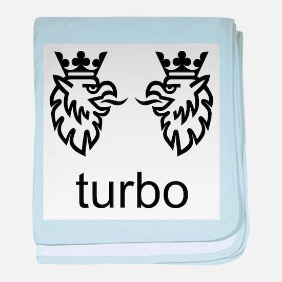 SAAB. Turbo. Born from Jets. baby blanket