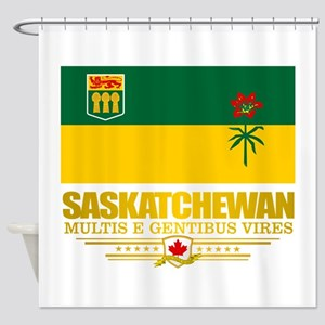 Saskatchewan Flag Shower Curtain