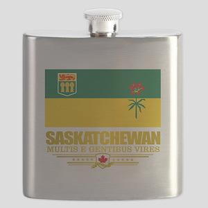 Saskatchewan Flag Flask