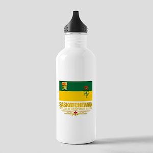 Saskatchewan Flag Water Bottle