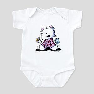 KiniArt Westie OXO Infant Bodysuit