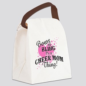 Cheer Mom Canvas Lunch Bag