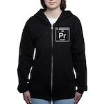 59. Praseodymium Women's Zip Hoodie