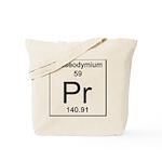 59. Praseodymium Tote Bag
