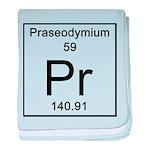59. Praseodymium baby blanket