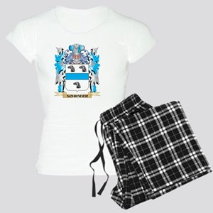 Schrader Coat of Arms - Fam Women's Light Pajamas