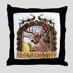 is it fall yet, yes the seaso Throw Pillow