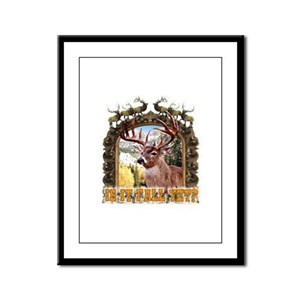 is it fall yet, yes the seaso Framed Panel Print
