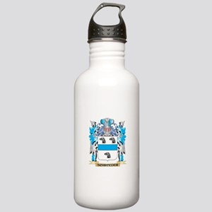 Schroeder Coat of Arms Stainless Water Bottle 1.0L