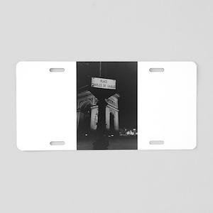 Place Charles de Gaulle Arc Aluminum License Plate