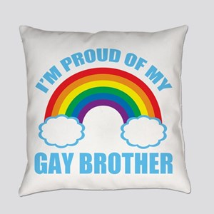 My Gay Brother Everyday Pillow