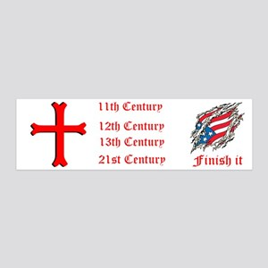 Finish It 36x11 Wall Decal