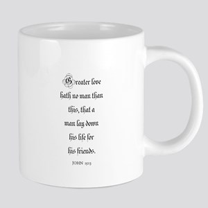 JOHN 15:13 Large Mugs