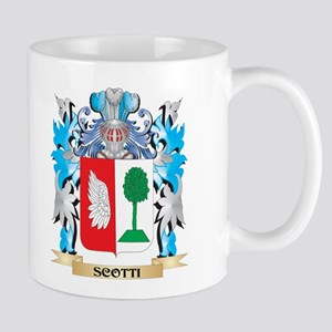 Scotti Coat of Arms - Family Crest Mugs