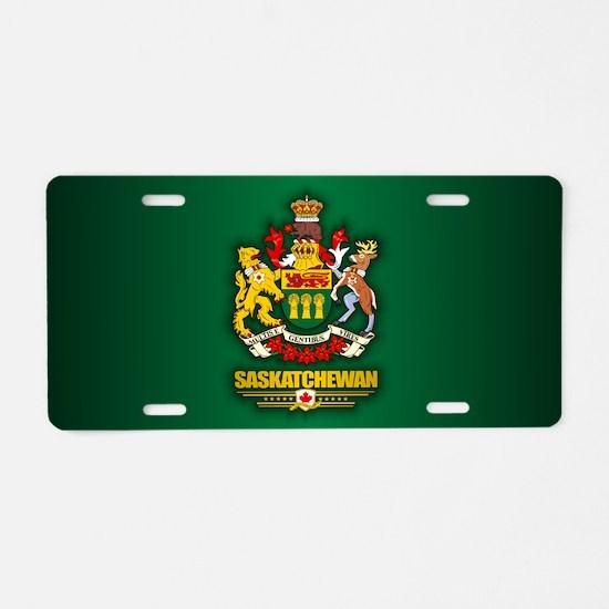 Saskatchewan COA Aluminum License Plate