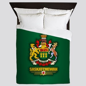 Saskatchewan COA Queen Duvet