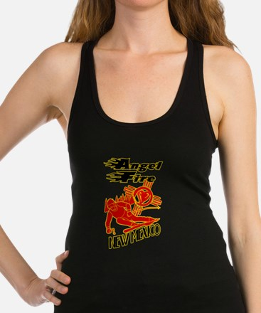 ANGEL FIRE LOVE Racerback Tank Top