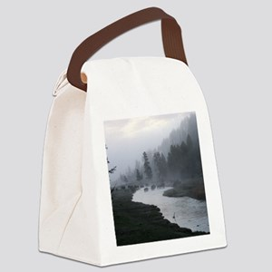 Bison Crossing Canvas Lunch Bag