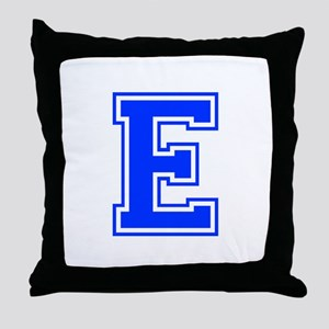 E-Var blue Throw Pillow