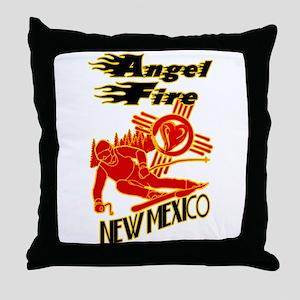 ANGEL FIRE LOVE Throw Pillow