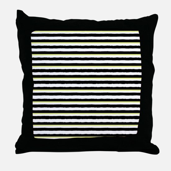 Cute Chartreuse Throw Pillow
