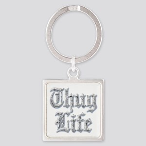Diamond Bling THUG LIFE Keychains