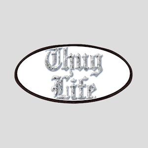 Diamond Bling THUG LIFE Patch