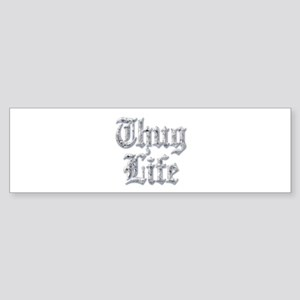 Diamond Bling THUG LIFE Bumper Sticker