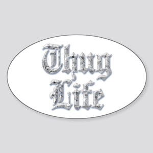 Diamond Bling THUG LIFE Sticker