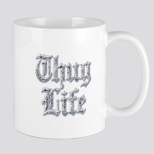 Diamond Bling THUG LIFE Mugs