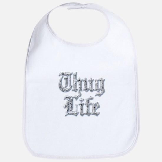 Diamond Bling THUG LIFE Bib