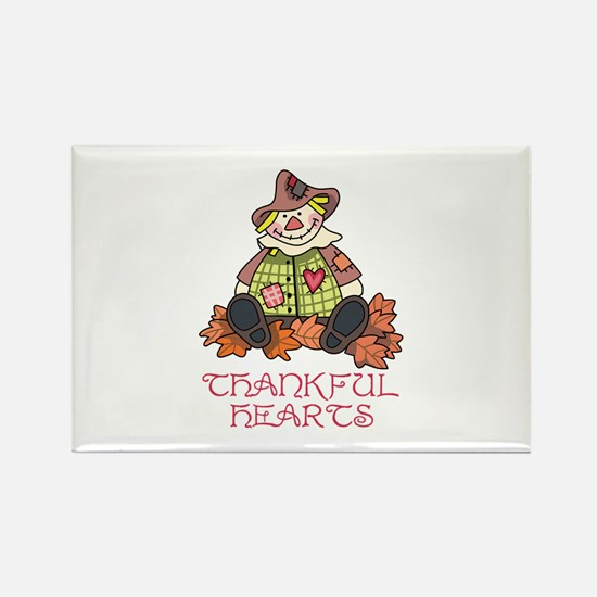 Thankful Hearts Magnets