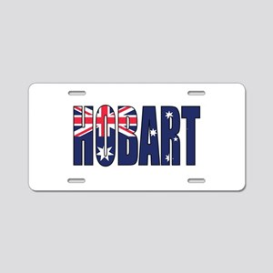 Hobart Aluminum License Plate