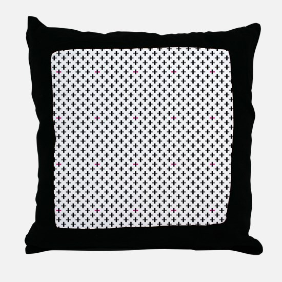 Unique Swag Throw Pillow
