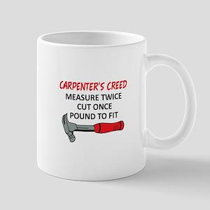 Carpenter's Creed Mugs