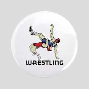 """Wrestling 3.5"""" Button"""