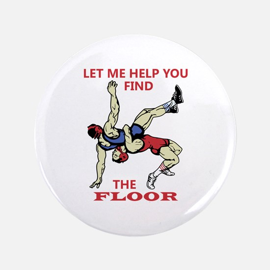 "Let Me Help You 3.5"" Button"