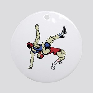 WRESTLERS Ornament (Round)
