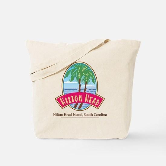 Hilton Head Palms - Tote Bag