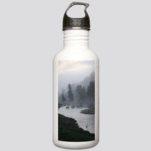 Bison Crossing Stainless Water Bottle 1.0L