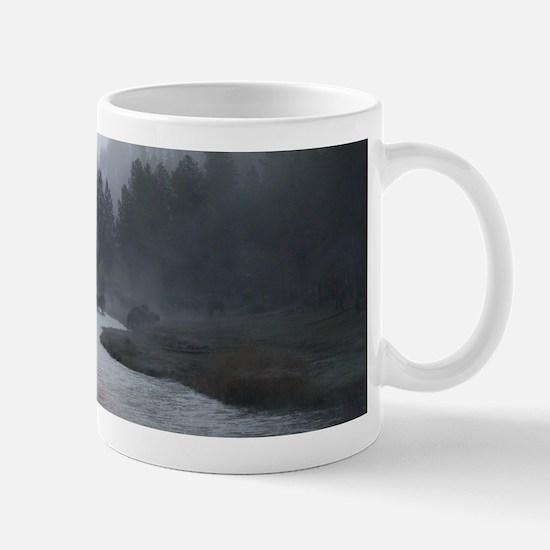 Bison Crossing Mugs